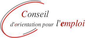 Logo Conseil d'orientation pour l'emploi