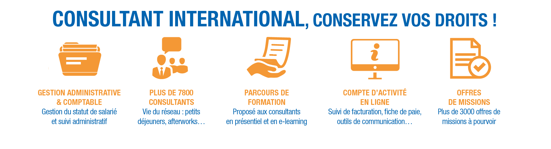 Consultant internationaux en portage salarial