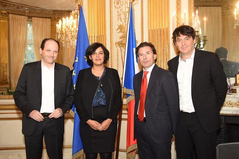 El Khomri (Ministre du travail) et LE PEPS