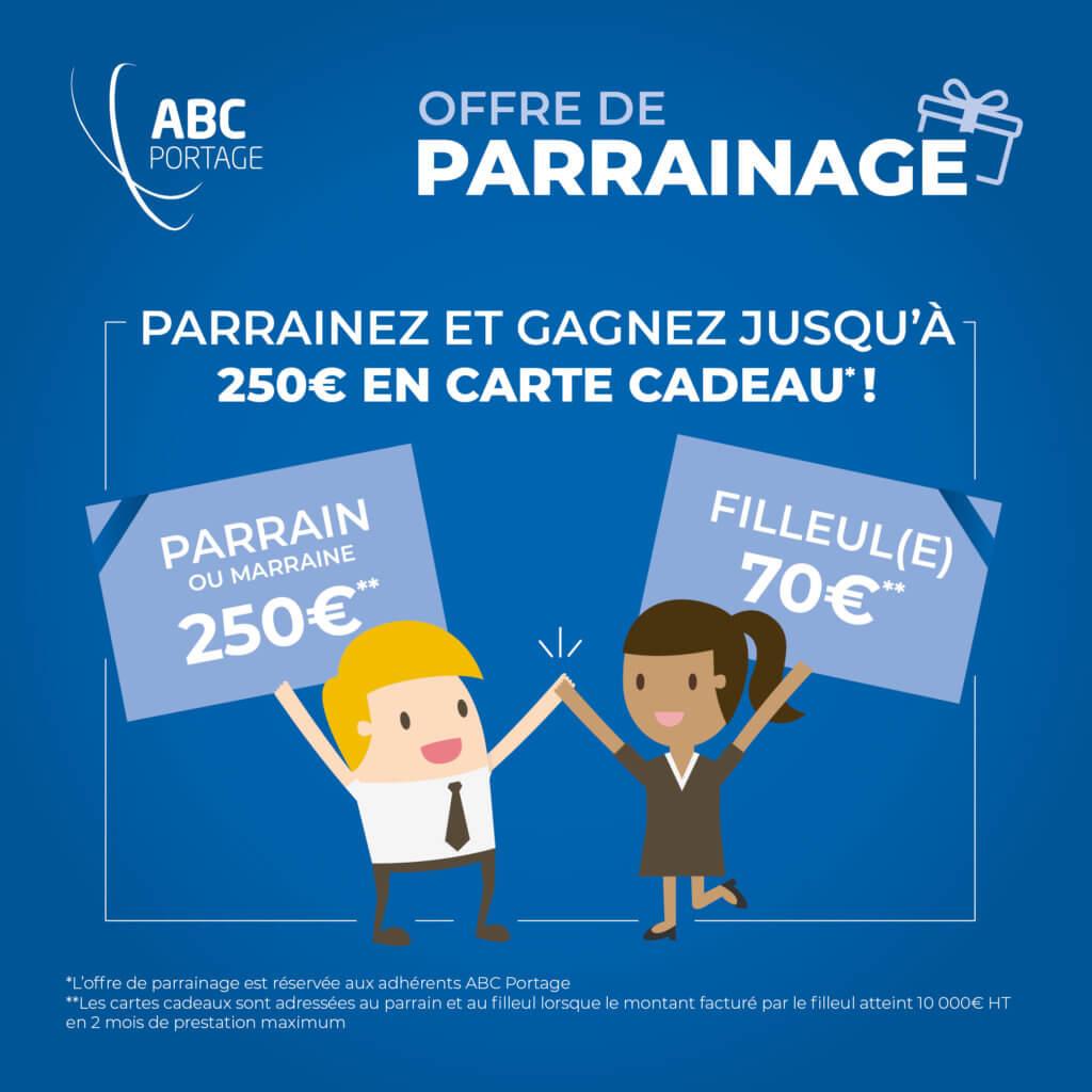 Offre de Parrainage ABC Portage